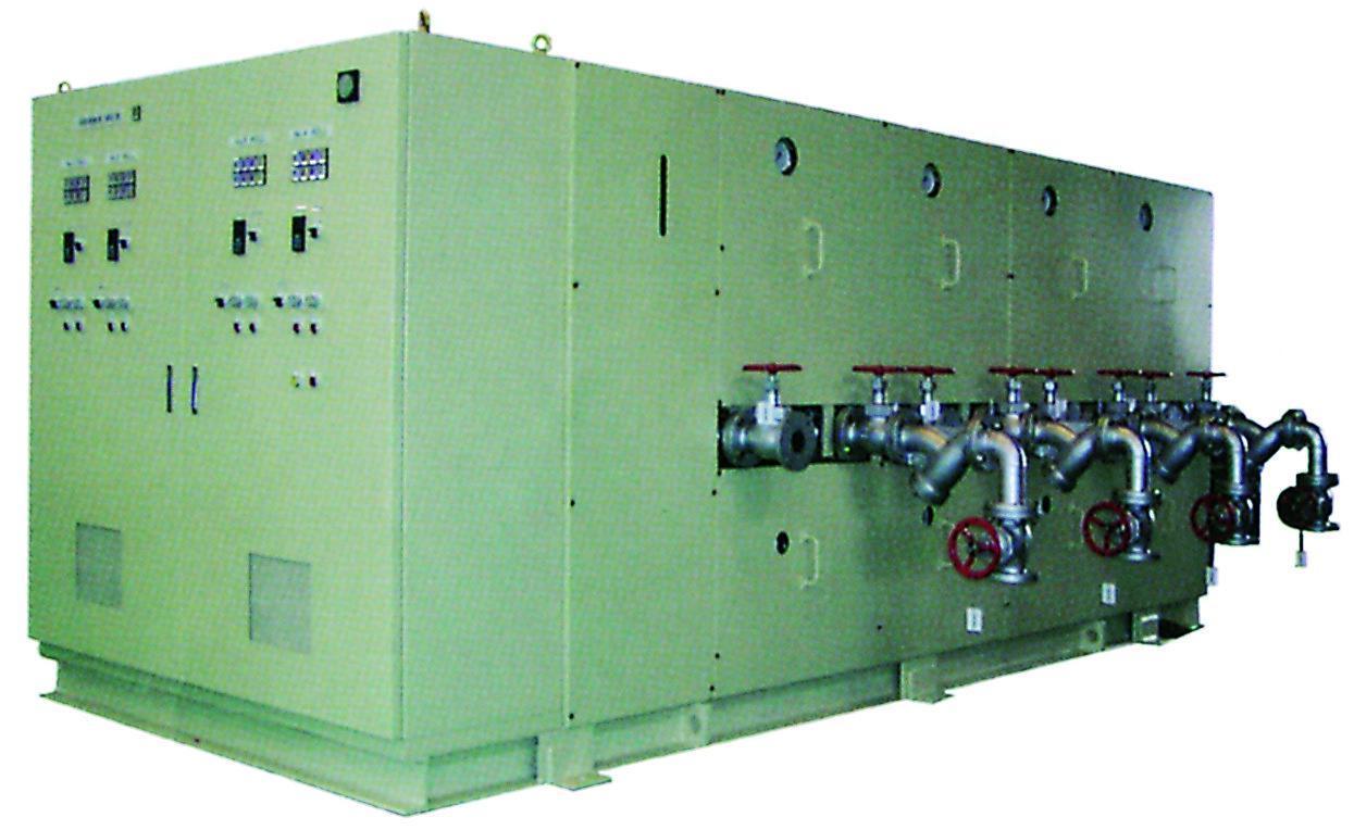 大型熱媒循環温調装置