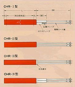 カートリッジヒーター構造図