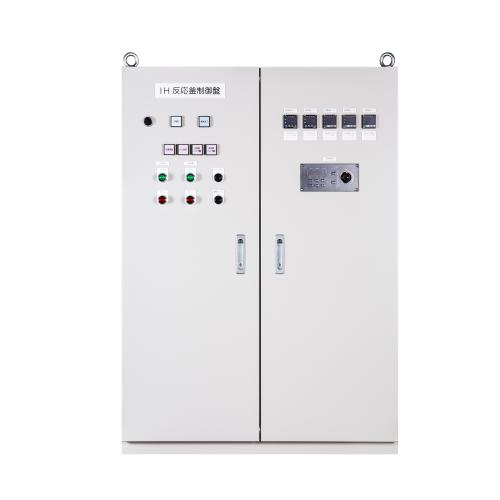 IH加熱反応釜の制御盤(誘導加熱、防爆構造)