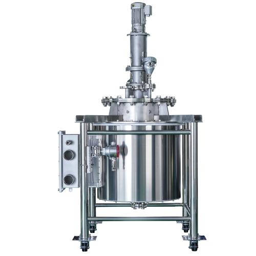 IH加熱反応釜(誘導加熱、防爆構造)防爆仕様の対応可