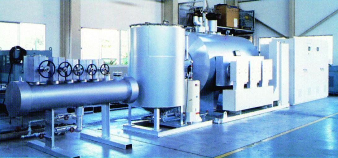 大型蒸気発生装置(防爆仕様対応)1.2トン/h 大型電気ボイラー