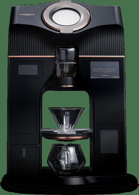 焙煎機付き全自動コーヒーマシン「カフェロイド」|製品開発・生産
